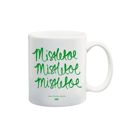 Mistletoe Coffee Mug-Mugs-Ashley Brooke Designs