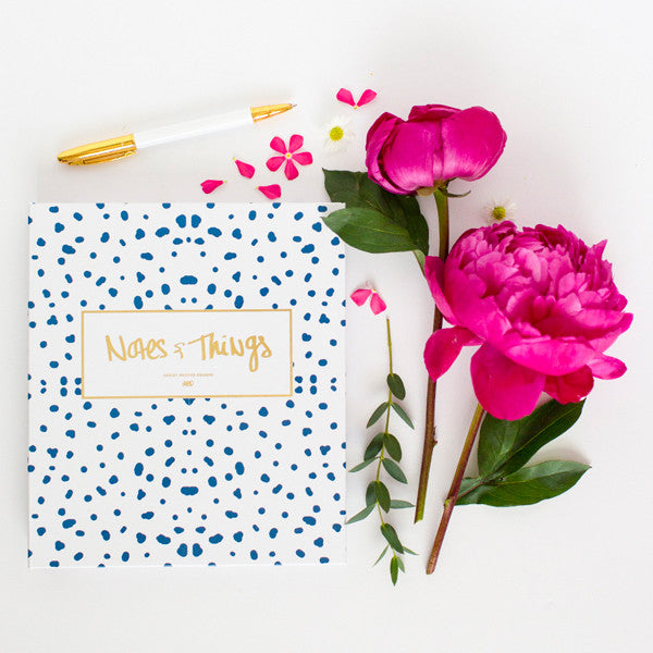 Notes & Things Notebook-Notebooks-Ashley Brooke Designs