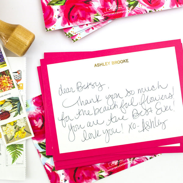 Rosie - Personalized Stationery-Stationery-Ashley Brooke Designs