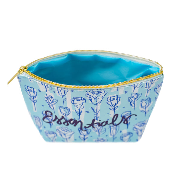 The Chinoiserie Cosmetic Bag-Cosmetic Zip Pouch-Ashley Brooke Designs