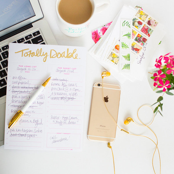Totally Doable Notepad-Notepads-Ashley Brooke Designs