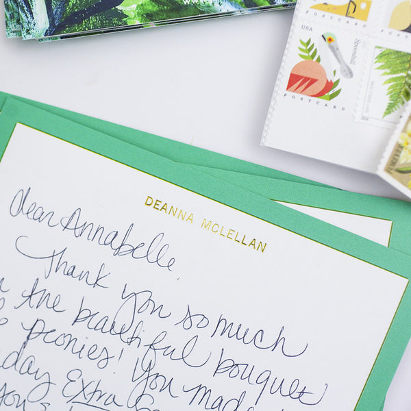 Palm Leaf - Personalized Stationery