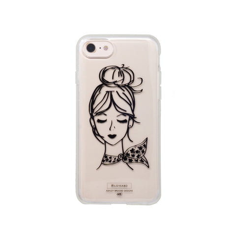 French Girl iPhone Case-Phone Case-Ashley Brooke Designs
