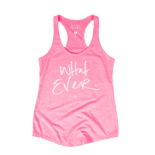 Whatever' Tank Top-Apparel-Ashley Brooke Designs