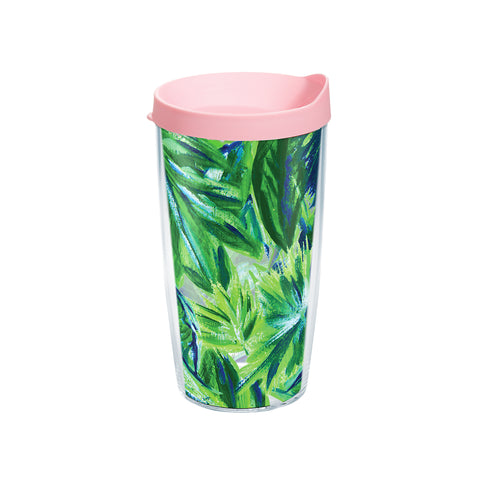 Palm Leaf Tervis Tumbler-Drinkware-Ashley Brooke Designs