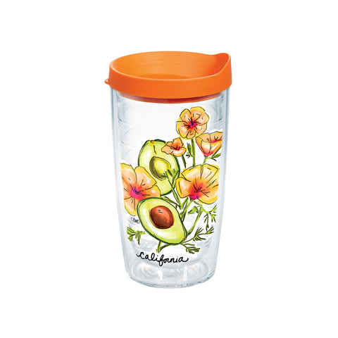 California Tervis Tumbler-Drinkware-Ashley Brooke Designs