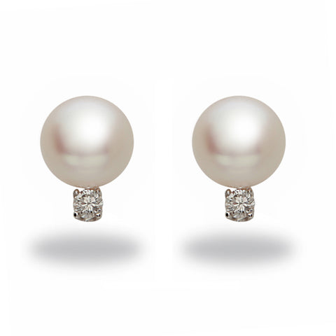 Oscar Collection 10-11mm White South Sea Pearl Ring
