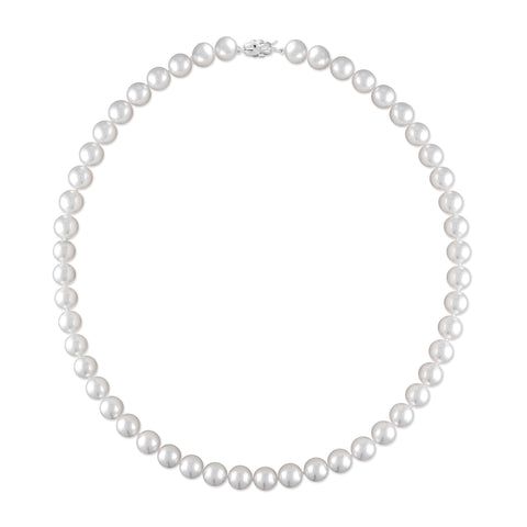 14k 6.5x7.0mm Akoya Cultured Pearl Necklace