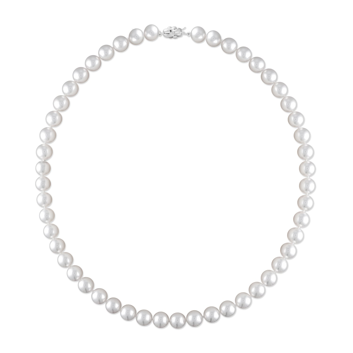 14k 6.5-7.0mm Akoya Cultured Pearl Necklace