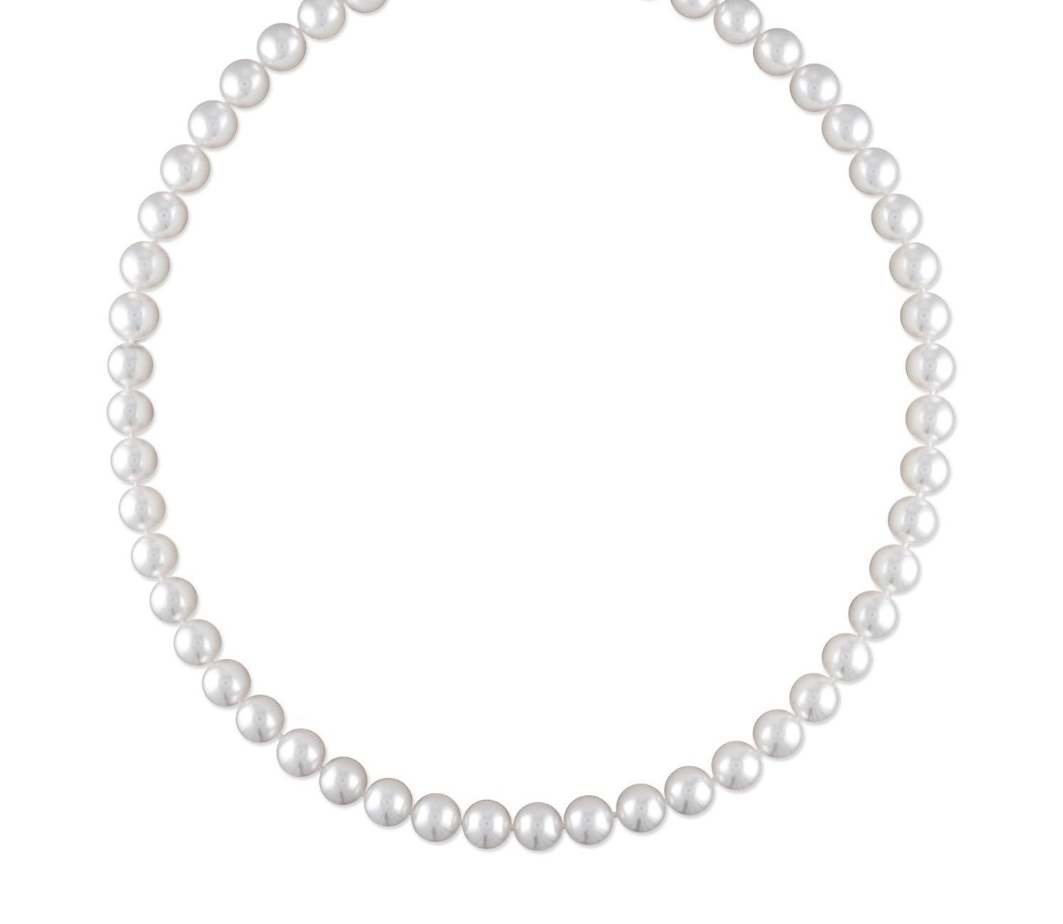 7-7.5mm Akoya Cultured Pearl Necklace