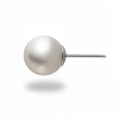 10-11mm White South Sea Pearl Stud Earring