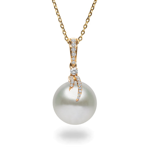 Oscar Collection 11-13mm Tahitian Pearl Pendant