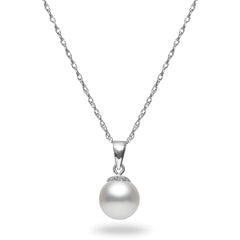8-8.5mm  Akoya Cultured Pearl  Pendant