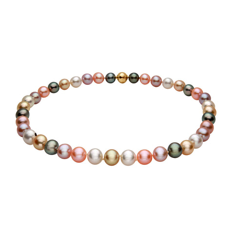 14k 8-9mm Tahitian Cultured Pearl Necklace