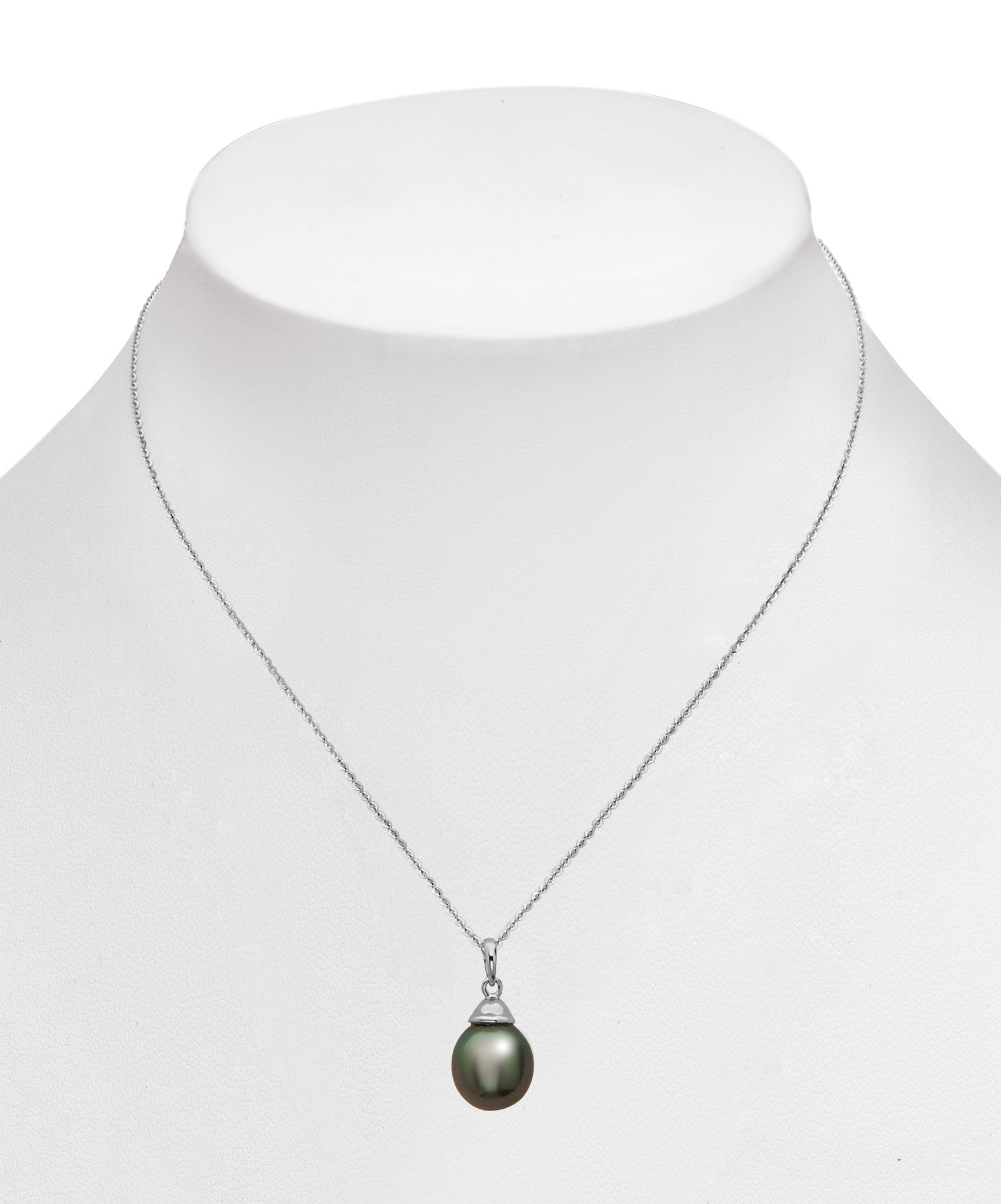 8-9mm Tahitian Pearl Pendant Necklace