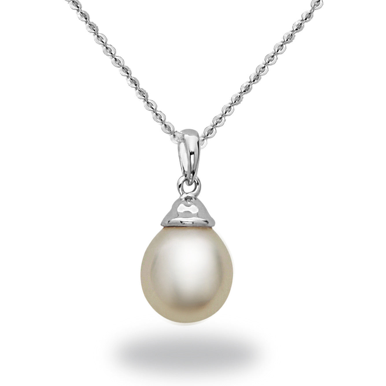8 9mm white south sea pearl pendant necklace tara pearls 8 9mm white south sea pearl pendant necklace aloadofball Gallery