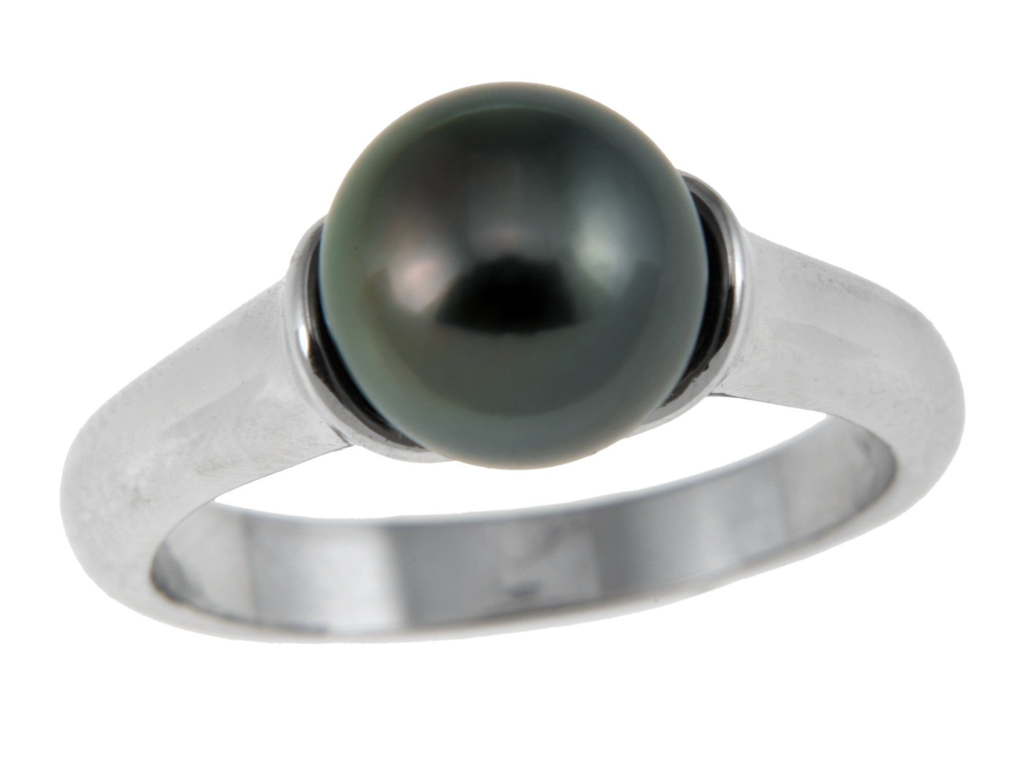 9-10mm Tahitian Pearl Ring