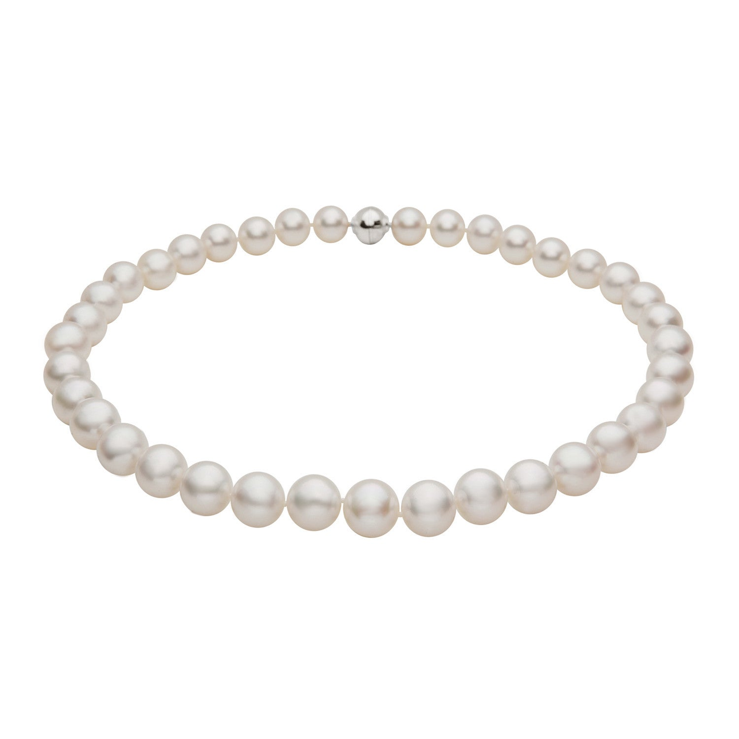 10-11mm White South Sea Pearl Strand