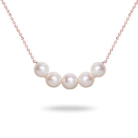14k 9-10mm Tahitian Cultured Pearl Necklace