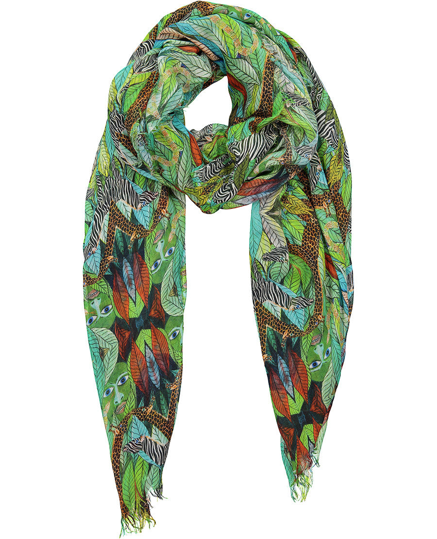 Adam and Eve Cashmere Scarf