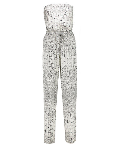 Population Print Jumpsuit
