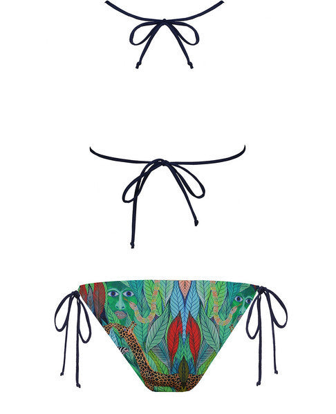 Adam & Eve Reversible String Bikini