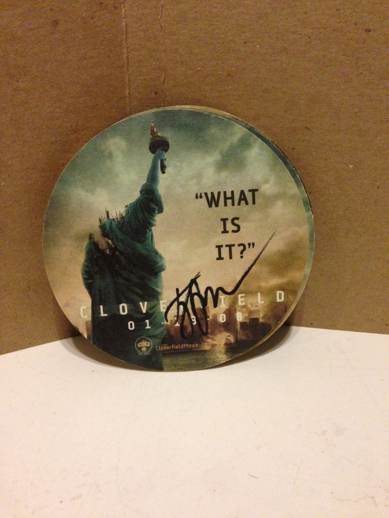 "Set of 5 Gently Used ""Cloverfield Coasters"" $15"