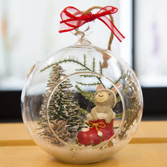 Holiday Ornaments Terrariums