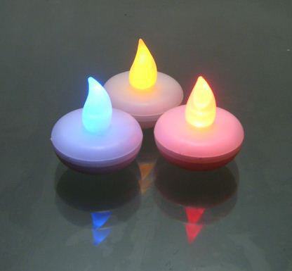 LED Floating Candle Light - (Pack of 12)