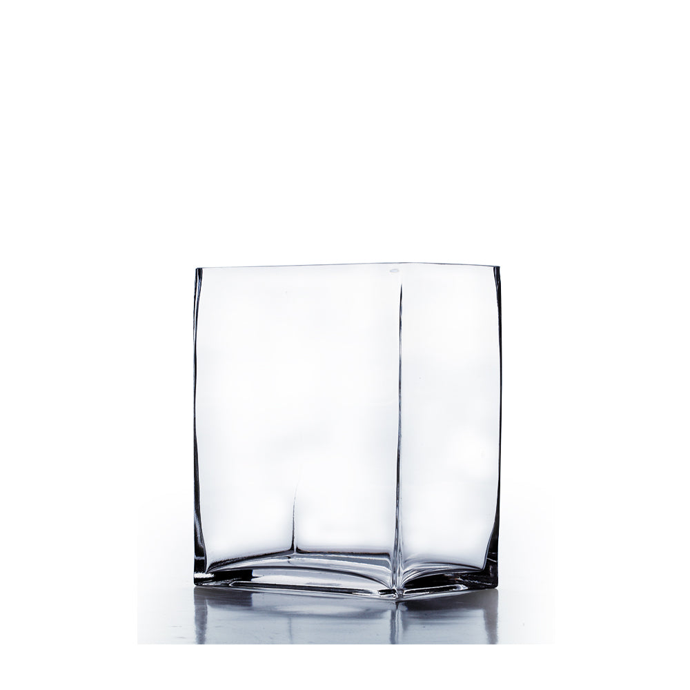 "6"" x 4"" x 8"" Rectangle Vase (Set of 3)"