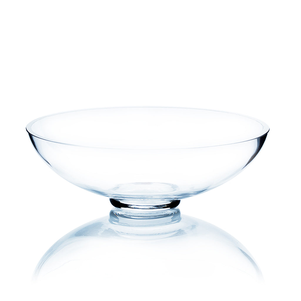 "8"" Shallow Bowl Vase (Set of 3)"
