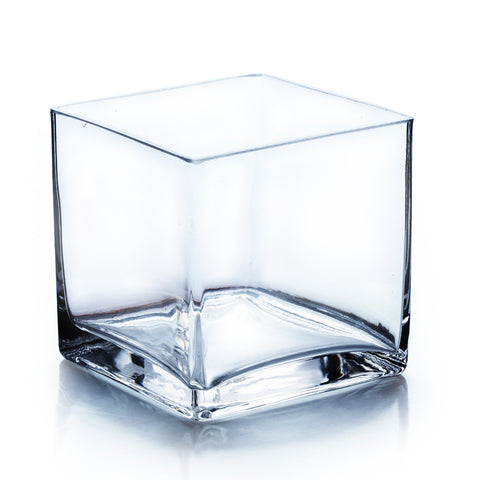 "5"" Cube Vase (Set of 3) - CB0005"