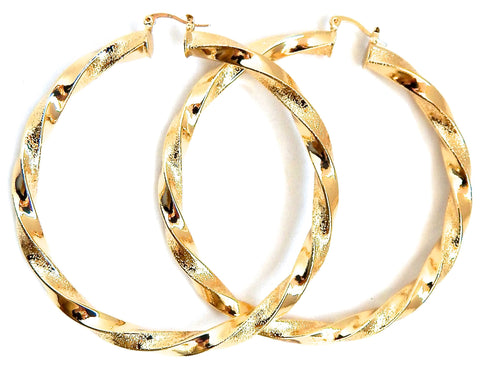Revolving Goldie Hoops
