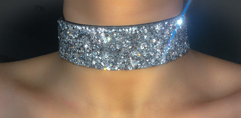 Rocky Road Diamond Choker