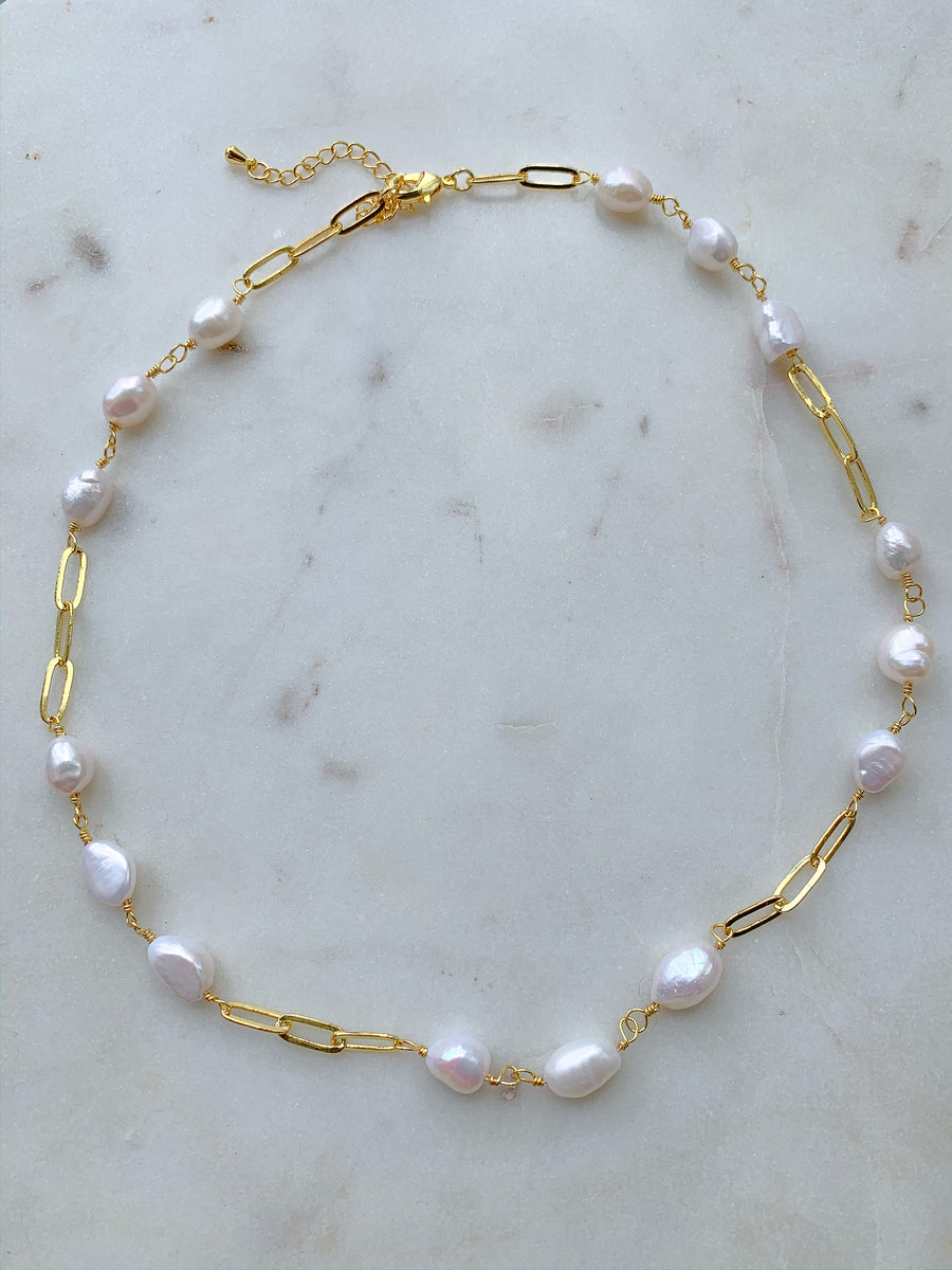 Chained Mi Sea Pearls