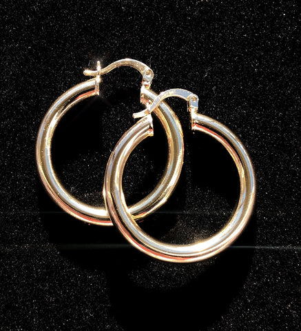 Huggie Goldie Hoops
