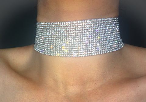 Diamond Wrap Choker