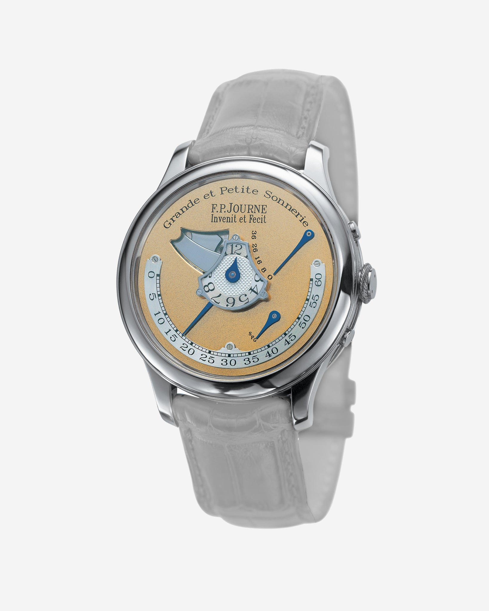 A unique F.P. Journe Grande et Petite Sonnerie that now sits in the collection of the Sultan of Oman