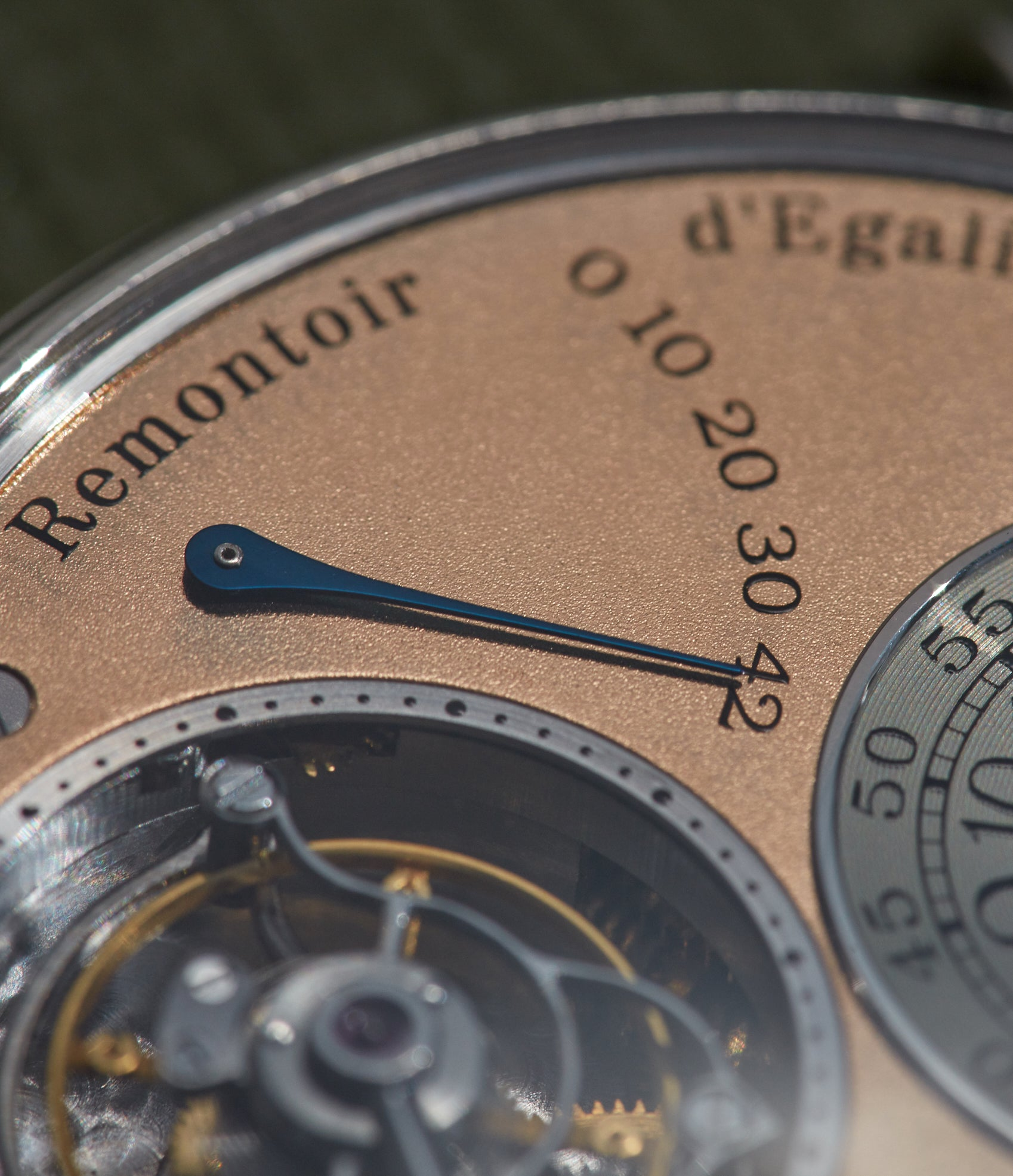 F.P. Journe Tourbillon Souverain third generation details shot by A Collected Man London