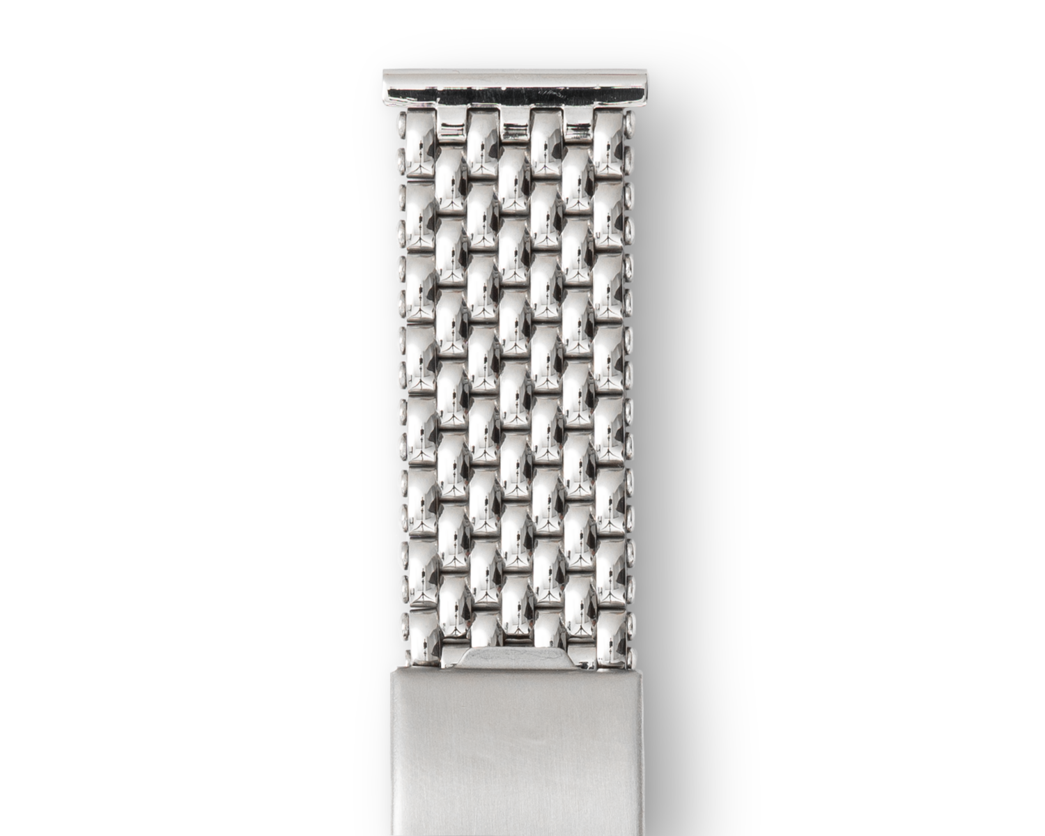 A Beads of Rice watch bracelet in stainless steel for A Collected Man London
