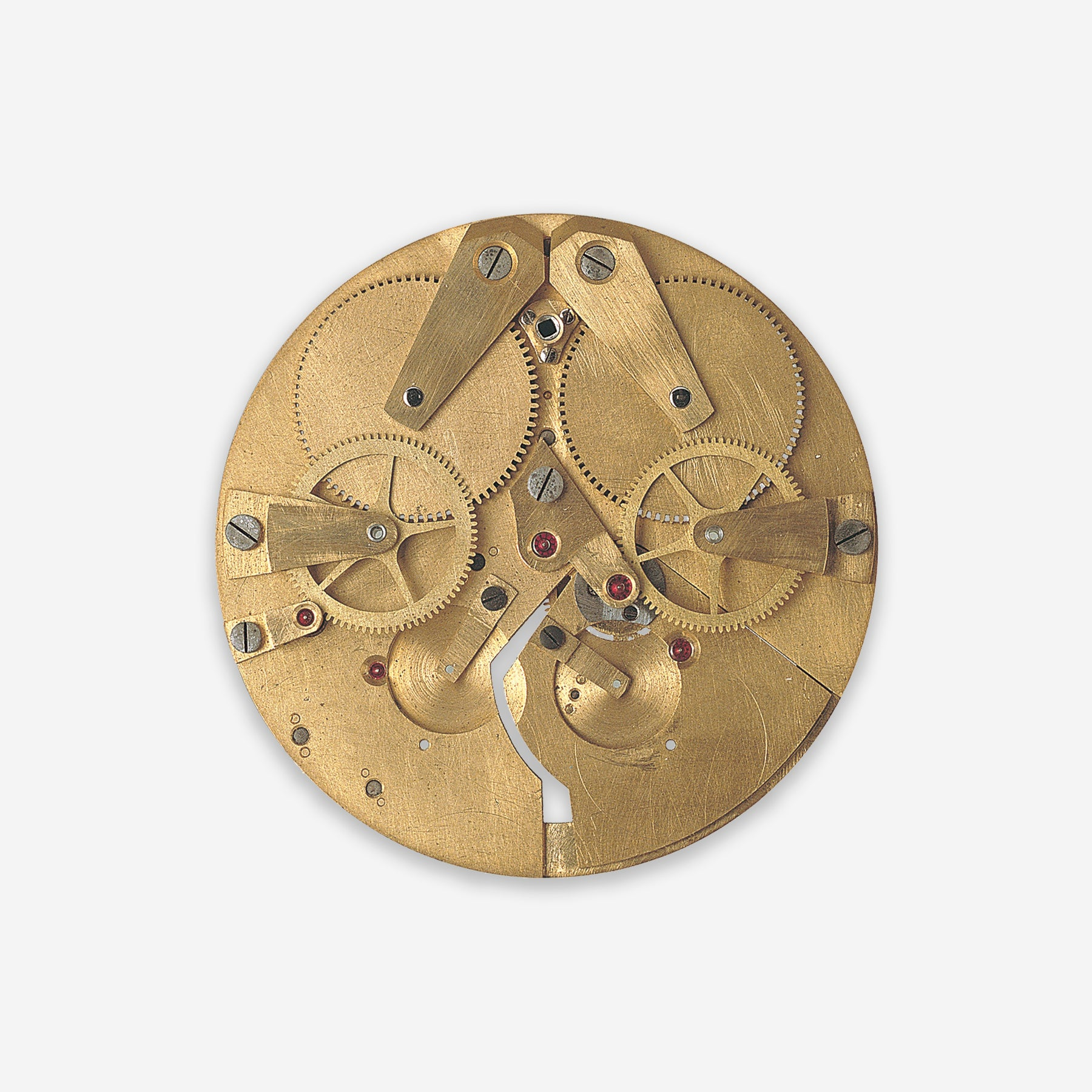 What is left of F.P. Journe's first attempt at a resonance movement