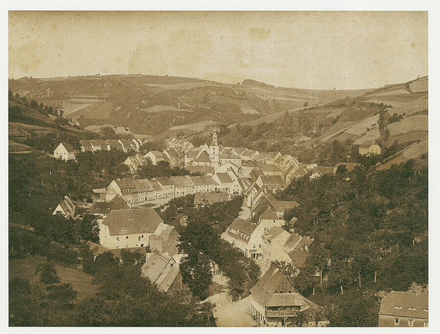 The town of Glashütte around the late 19th century for A Collected Man London