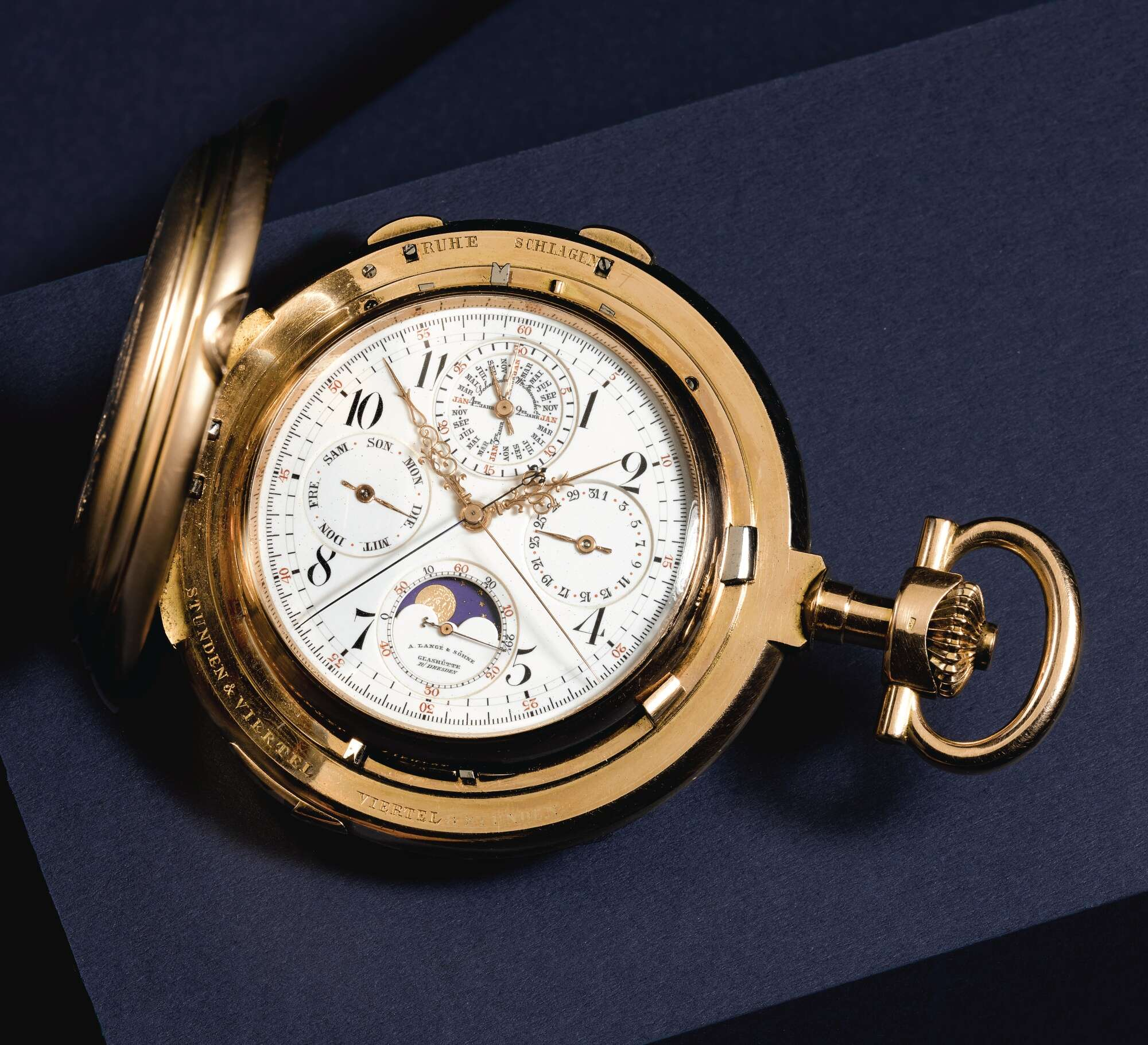 A. Lange & Söhne early grand complication pocket watch for A Collected Man London