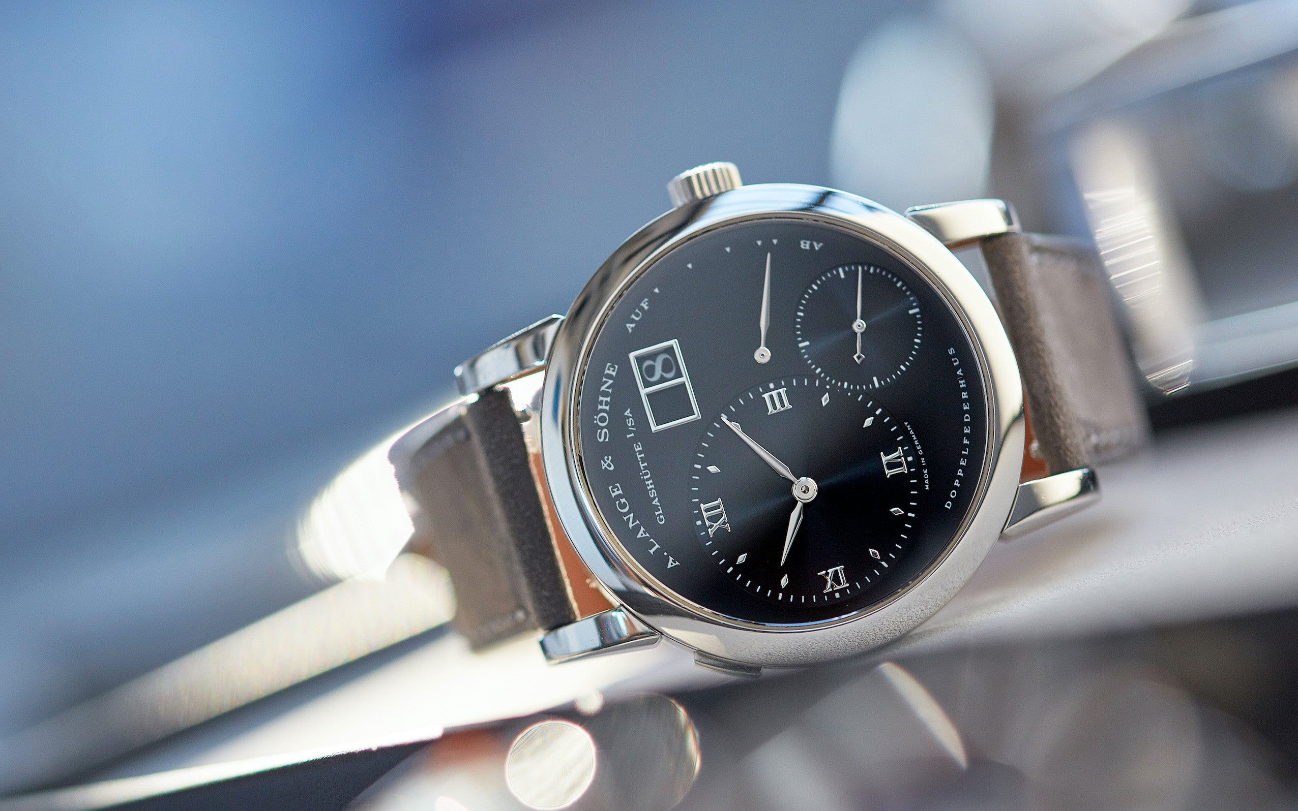 A. Lange & Söhne Lange 1 black dial Darth for A Collected Man London
