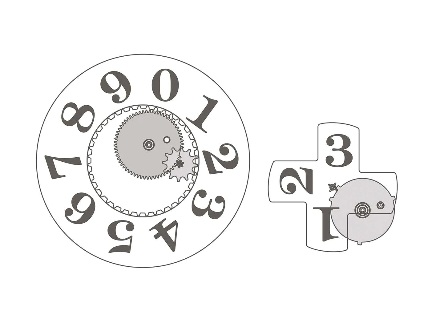 A. Lange & Söhne Lange 1 oversized date mechanism for A Collected Man London