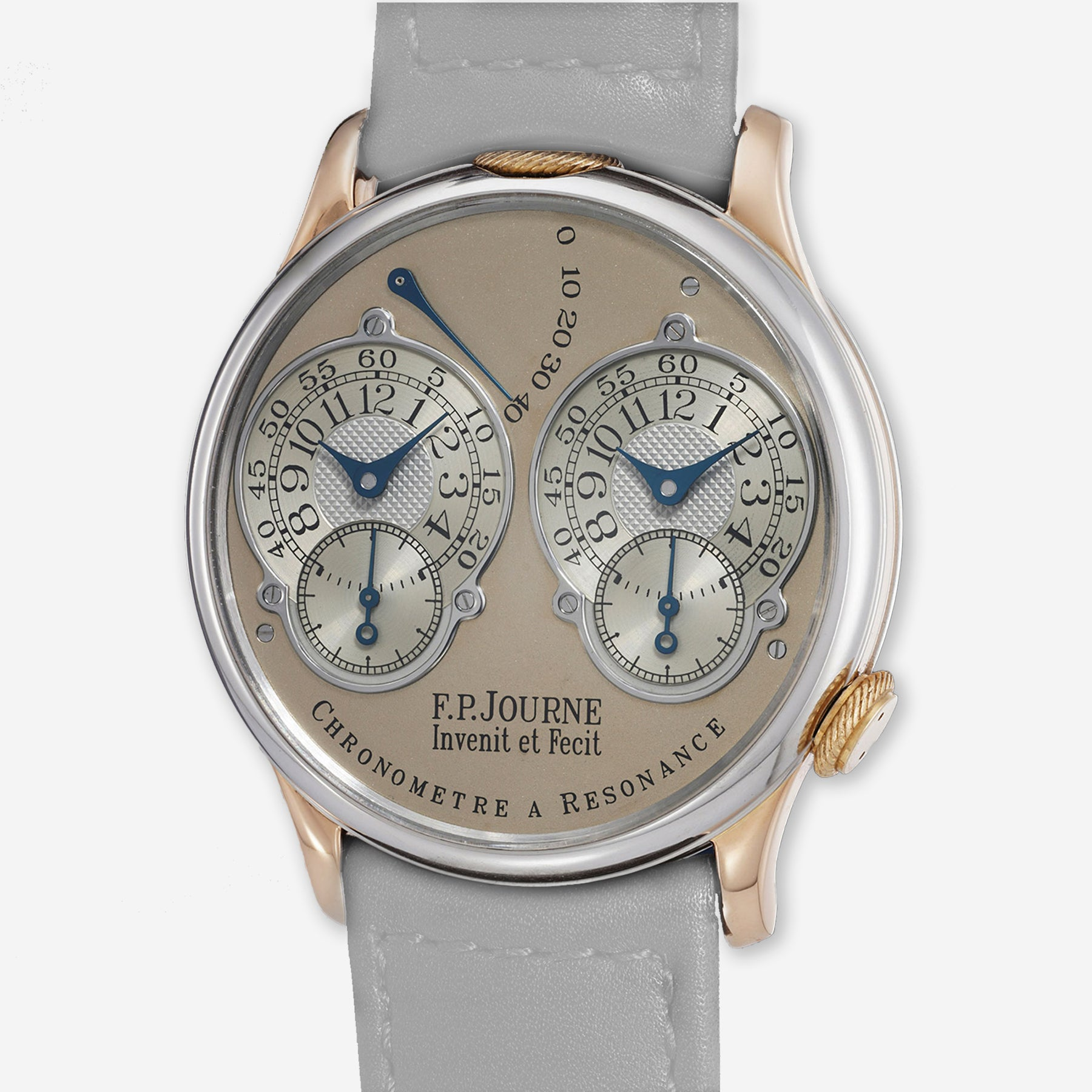 Two-tone F.P. Journe Souscription Resonance coming up for sale at Phillips
