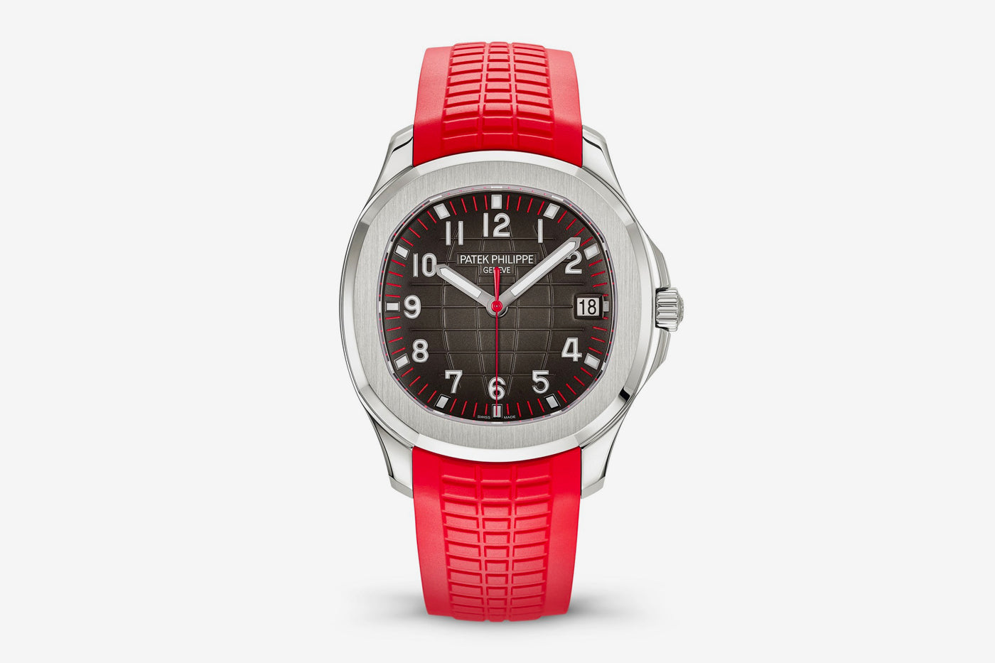 Patek Philippe 5167 Aquanaut Singapore Limited Edition with red rubber strap for A Collected Man London