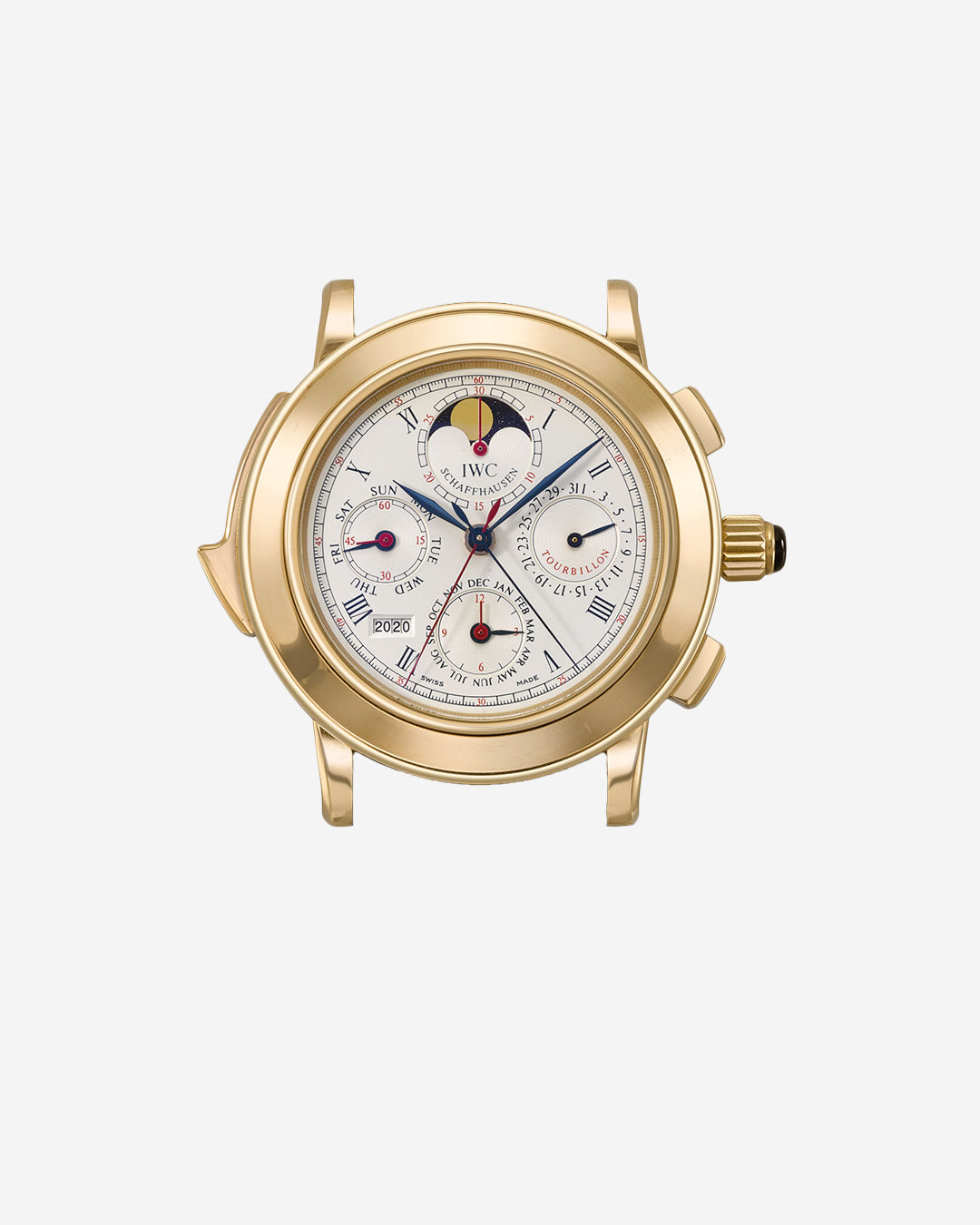The IWC Il Destriero Scafusia grand complication wristwatch in yellow gold for A Collected Man London