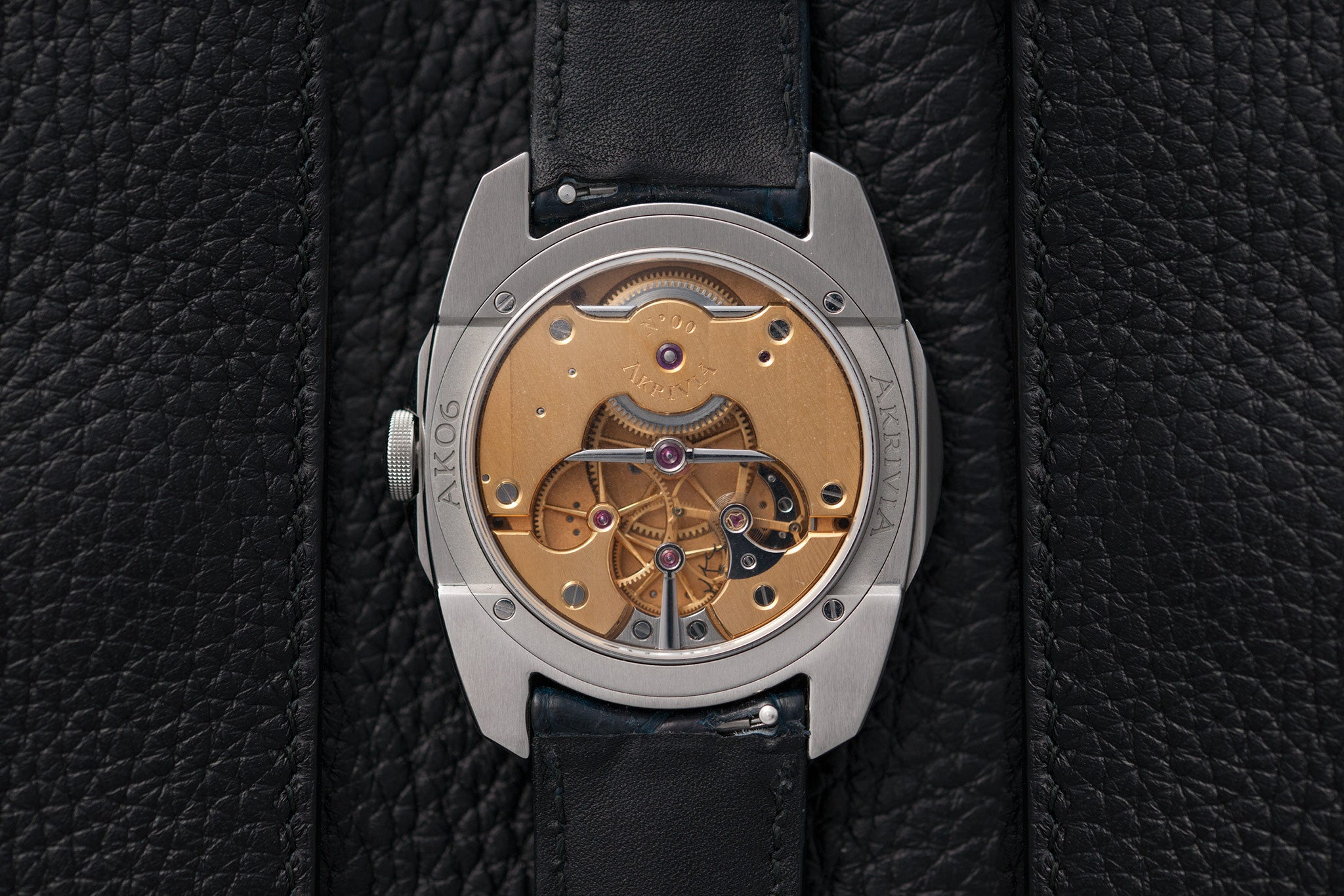 Akrivia AK06 movement watch at A Collected Man - approved seller of independent watchmakers