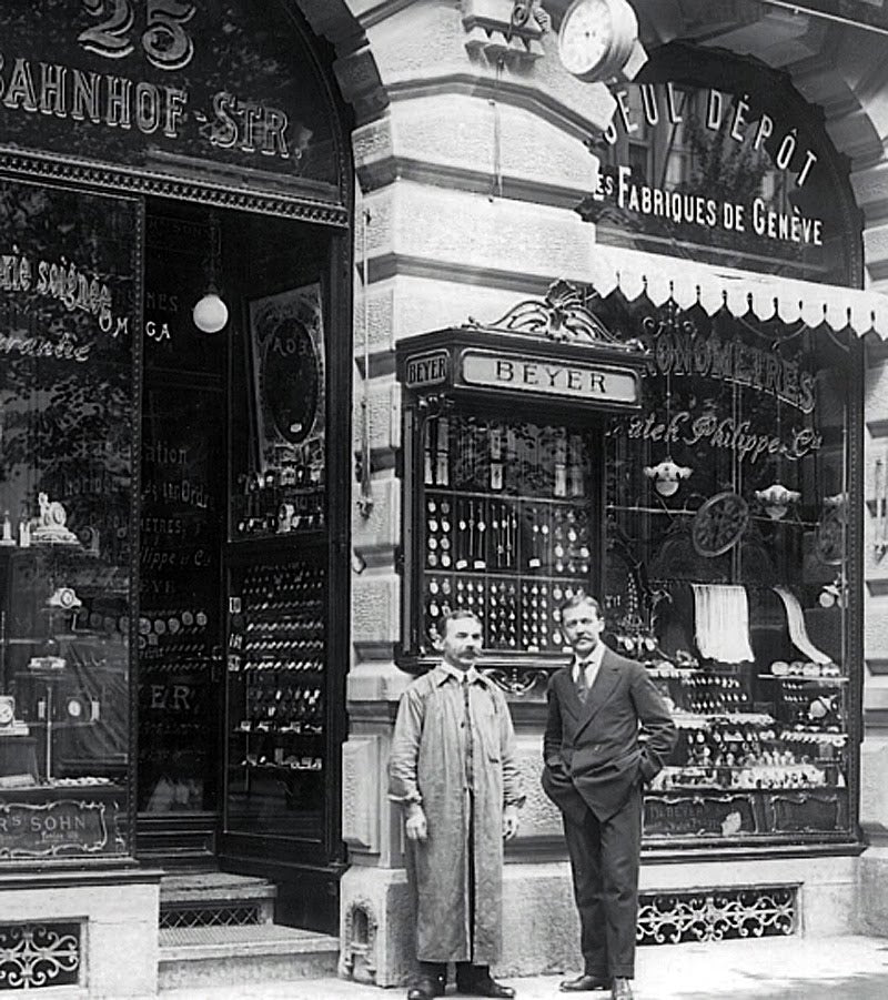 The Beyer store in 1910 for A Collected Man London